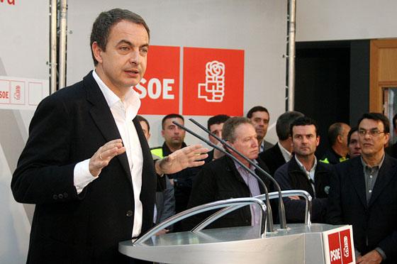 Zapatero visita Almonte
