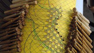 Visita a un taller de bordados: Elena Caro