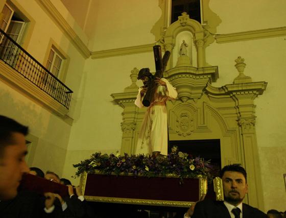 Vía crucis de las cofradías gaditanas