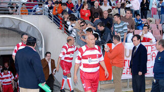 Veteranos del fútbol en Los Cármenes
