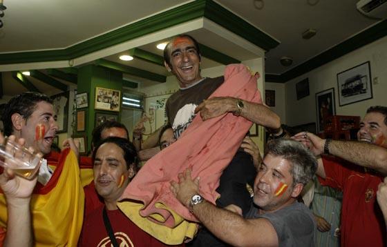 Andalucía celebra el pase a la final de España