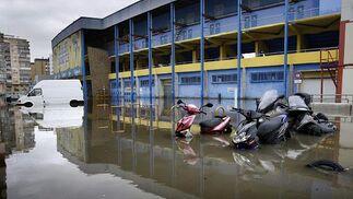 Un fuerte temporal azota la provincia