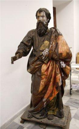 Las esculturas de la parroquia de la Magdalena