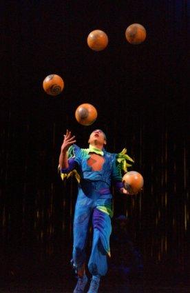 'Varekai', el nuevo espectáculo del Circo del Sol