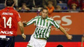 Osasuna-Betis (0-2): Con otra cara