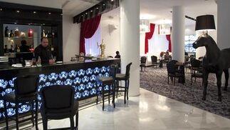 Barra de bar del hotel Colón.  Foto: Jaime Martinez
