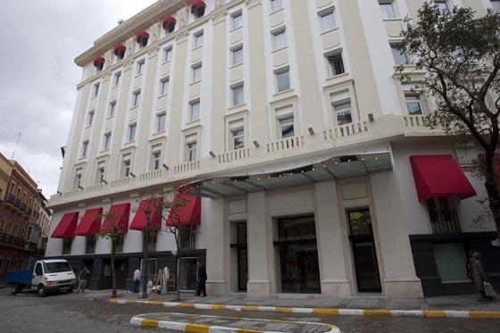 Fachada del hotel Colón.  Foto: Jaime Martinez