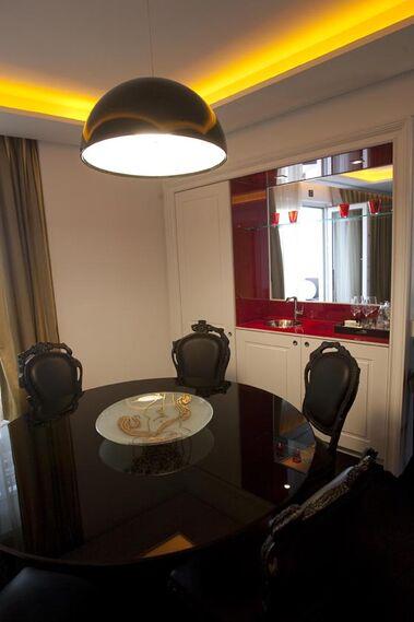 Interior de una habitación del hotel.  Foto: Jaime Martinez