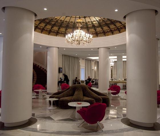 Salón del hotel Colón.  Foto: Jaime Martinez