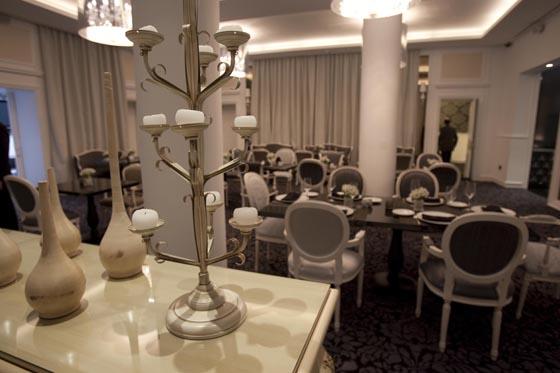 El diseño del comedor del hotel.  Foto: Jaime Martinez