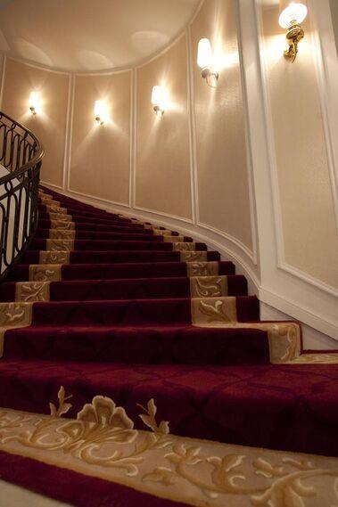 Una de las escaleras del hotel Colón.  Foto: Jaime Martinez