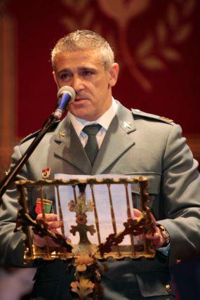 La Policía Local premió al guardia Civil Manuel Pimentel  Foto: Miguel Rodr?ez