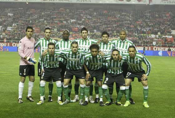 Foto para la prensa de los jugadores del Betis.  Foto: Antonio Pizarro