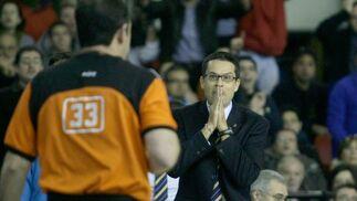 Pedro Martínez en una actitud especial.Lou  Foto: Antonio Pizarro