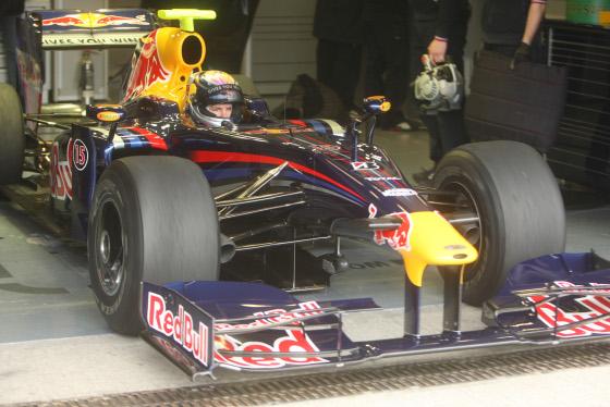 Sebastien Vettel, con el Red Bull de 2009.  Foto: J. C. Toro