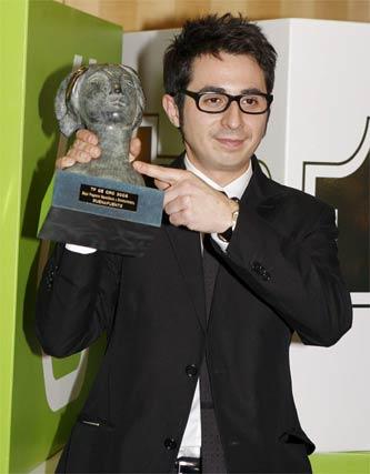 Berto Romero recogió el premio por el programa Buenafuente.   Foto: EFE