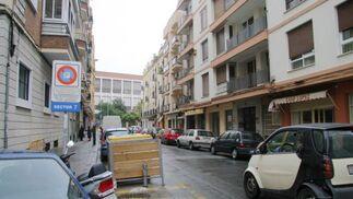 En la calle Virgen de la Victoria se realizarán mejoras de abastecimiento.   Foto: Belén Vargas