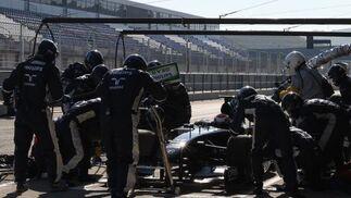 Los entrenamientos de Fórmula 1 regresarán al Circuito de Jerez el próximo mes de marzo (del 1 al 5) en unos test con presencia de prácticamente todas las escuderías.  Foto: J. C. Toro