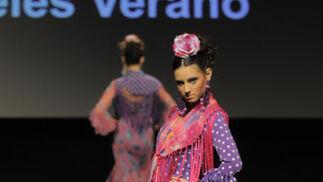 Verano cautivó a todos con las mezclas de tejidos y sus complementos.  Foto: M. Aranda