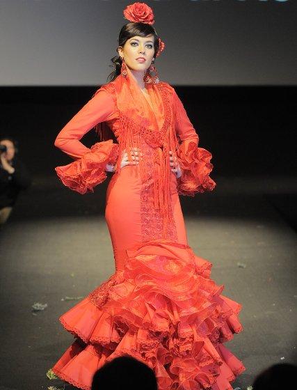 La colección de vestidos enteros de Beato tuvo un enorme éxito.  Foto: Manuel Aranda