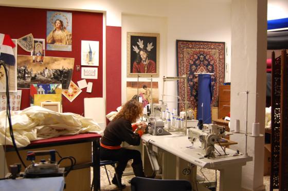 Otro de los salones del taller.  Foto: J. M.