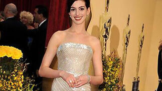 Anne Hathaway, nominada por 'La boda de Rachel'.  Foto: AFP Photo / EFE / Reuters