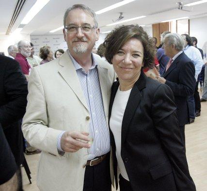 José Luis de la Rosa e Isamay Benavente.  Foto: Miguel Angel Gonzalez