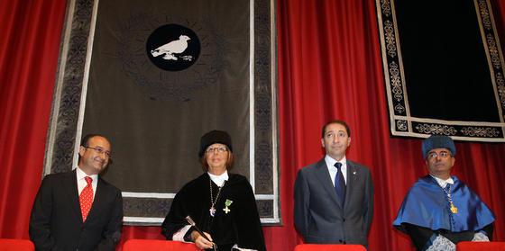 Apertura del curso universitario 2009-10 de la Universidad de Málaga.   Foto: Migue Fernandez