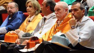 Asistentes al acto de apertura del curso académico de la Universidad de Málaga.   Foto: Migue Fernandez