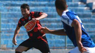 La mejor y más clara acción fue para Benítez, quien tuvo en sus botas el empate en una jugada en la que remató a las nubes desde el interior del área.   Foto: L. O. F