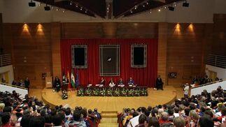El acto de inicio de curso se ha celebrado en la Facultad de Derecho.   Foto: Migue Fernandez