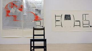 La obra 'Leviathan Edge 2009', de la artista británica Lucy Skaer.  Foto: efe