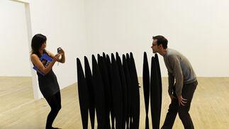 Otra perspectiva 'Black Alphabet 2008', de Lucy Skaer.  Foto: efe