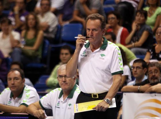 """Aíto: """"No sé dónde está el techo del equipo, espero que esté lejos""""  Foto: Migue Fernandez"""