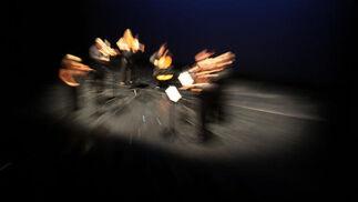Octeto de la Orquesta Filarmónica de Málaga, que participó en la gala.   Foto: Migue Fernandez