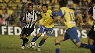 Los amarillos fueron de más a menos en el partido ante el Cartagena, que terminó ganando gracias a su pegada y su orden  Foto: Joaquin Pino-Jesus Marin