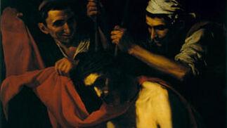 La 'Coronación de espinas' de José de Ribera, uno de los cuadros procedentes del Palacio de Dueñas.