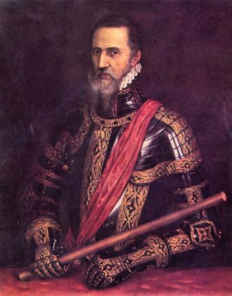 El retrato que el maestro Tiziano hizo de Fernando Álvarez de Toledo, Gran Duque de Alba.
