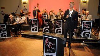 'Sonora Big Band' amenizó el jerez de honor.