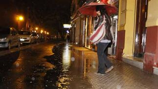 Fuertes lluvias en la capital  Foto: Juan Carlos Mu?