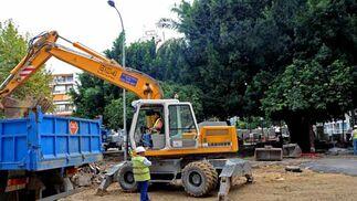 Asfaltar la vía es uno de los primeros pasos  Foto: Juan Carlos V?uez