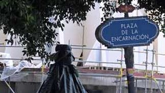 Estado de la plaza de la Encarnación  Foto: Juan Carlos V?uez