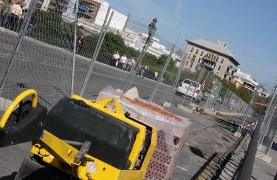 Estado de las obras en Triana (octubre 09)
