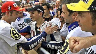 Rossi y Lorenzo.  Foto: Afp Photo / Efe / Reuters