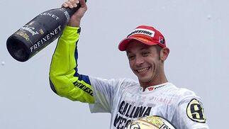 Valentino Rossi.  Foto: Afp Photo / Efe / Reuters