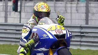 Valentino Rossi.  Foto: Afp Photo / Efe / Reuters