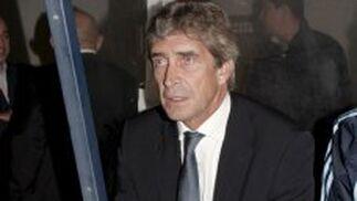Manuel Pellegrini, en el banquillo de Alcorcón./ EFE