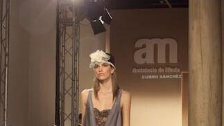 Colección de Curro Sánchez para V Certamen Noveles, 6ª edición Andalucía de Moda  Foto: J. M.