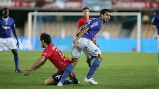 """El argentino Armenteros reconoció que tanto a él como al equipo """"nos costó un poco entrar en el partido""""  Foto: Pascual"""