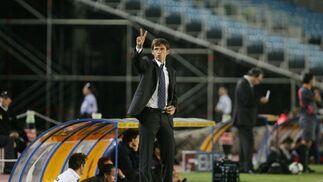 El Xerez de Cuco Ziganda tuvo dos ocasiones muy claras para hacer el segundo gol y empatar el partido.  Foto: Pascual